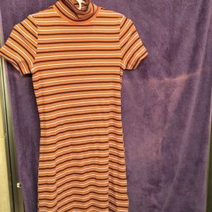 Urban outfitters S/P mock turtleneck dress